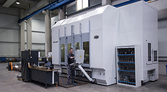 5-Achsen-Bearbeitungszentrum AXA VHC-50-XTS